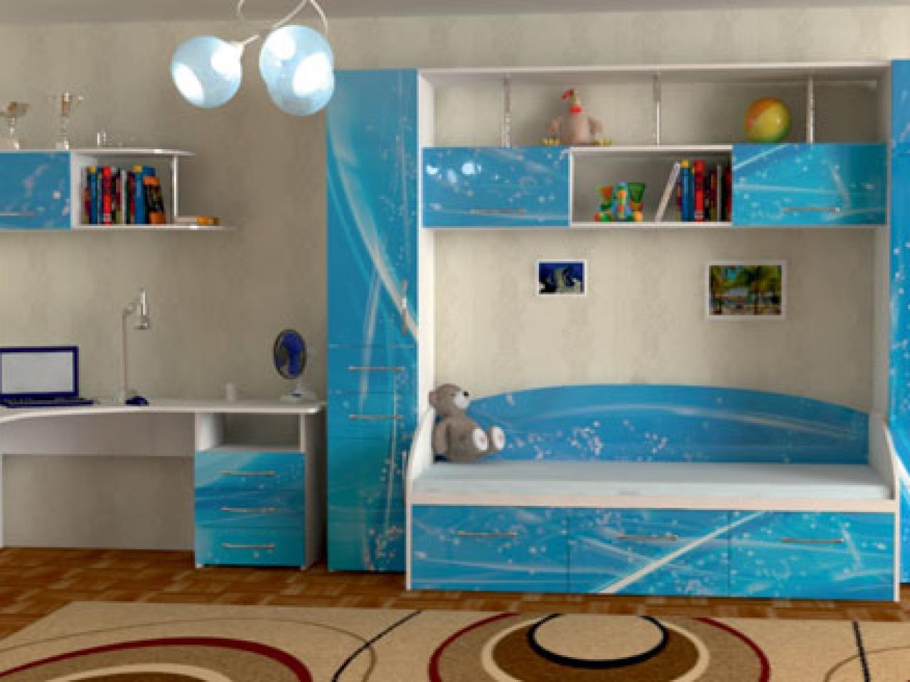 Детская мебель в казани на заказ. шкафы купе в детскую комна.